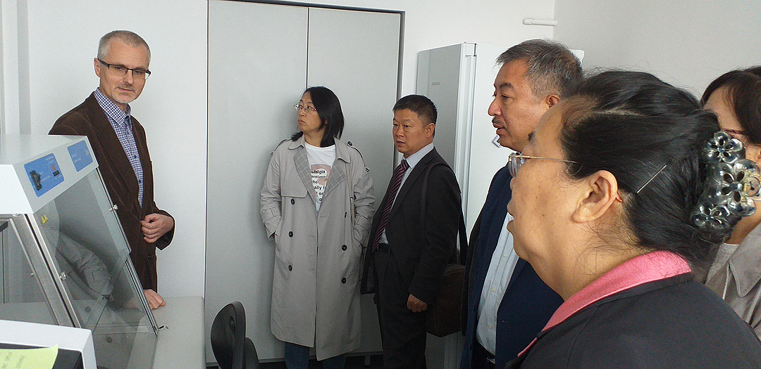 Delegacja Shandong Academy of Agricultural Sciences - SAAS