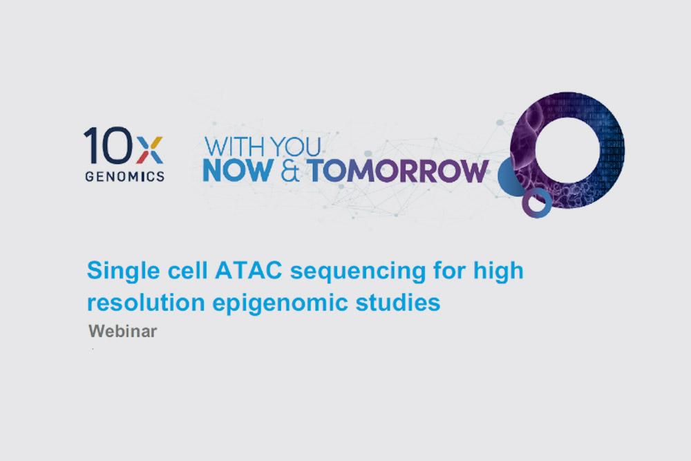 Analiza epigenomiczna: Chromium Single Cell ATAC Solution (scATAC-seq). Webinarium 10x Genomics