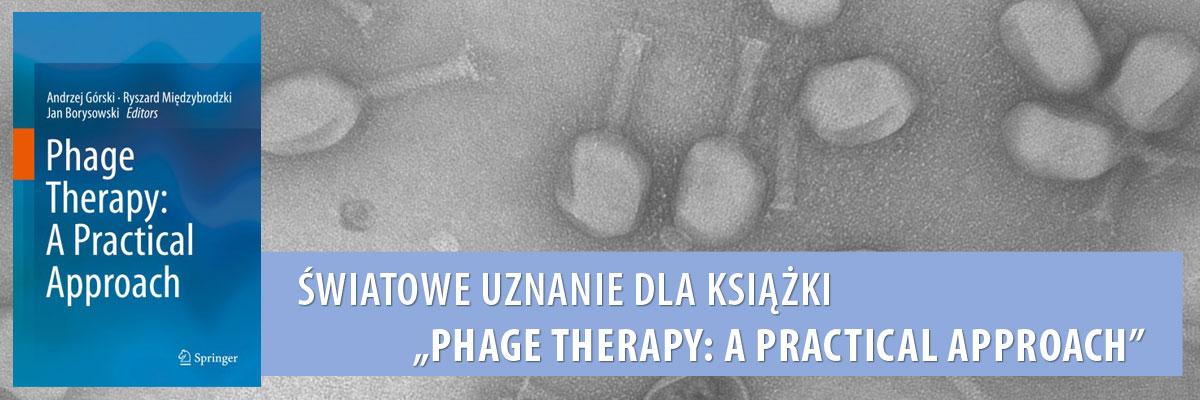 Światowe uznanie dla książki - Phage Therapy: A Practical Approach