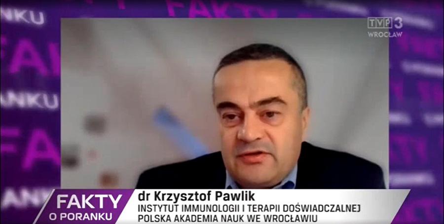 Dr Krzysztof Pawlik