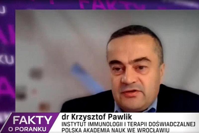 Rozmowa z dr Krzysztofem Pawlikiem z IITD PAN